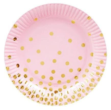Тарілочки рожеві